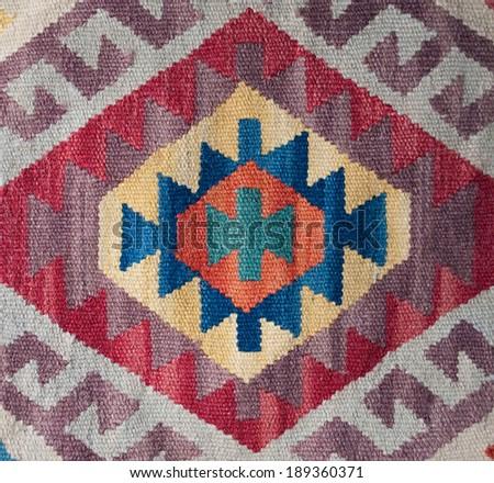 traditional ethnographic textile #189360371