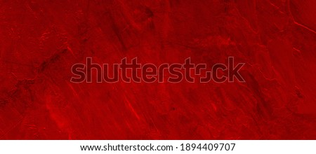 Elegant dark red background with scratches and gradient. Panoramic background for decoration