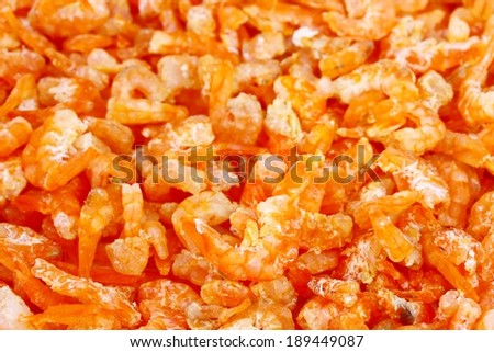 Dried Shrimp #189449087