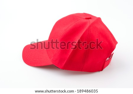 Baseball cap isolated white background #189486035