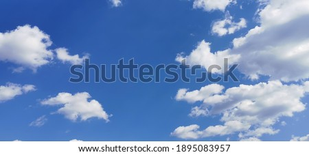 Beautiful skies in winter afternoons Royalty-Free Stock Photo #1895083957