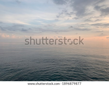 seascape background, tender  natural colors Royalty-Free Stock Photo #1896879877