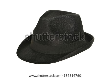 black hat on white #189814760