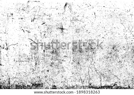 Abstract dirty or scratch aging effect. Dusty and grungy scratch texture material or surface. Use for overlay effect vintage grunge style design. Royalty-Free Stock Photo #1898318263