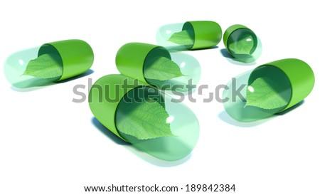 Natural vitamin pills. Alternative medicine #189842384