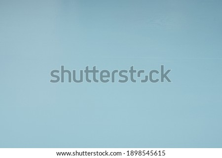 clear blue table as background and texture