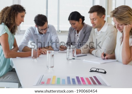 Casual business team having a meeting in the office #190060454