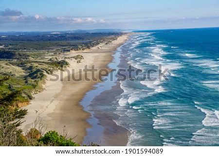 Stunning Landscape from the Oregon Coast Royalty-Free Stock Photo #1901594089