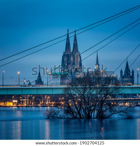 cologne cathedral church in germany Royalty-Free Stock Photo #1902704125