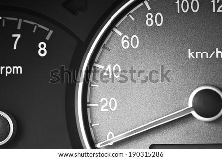 speedometer monochrome #190315286