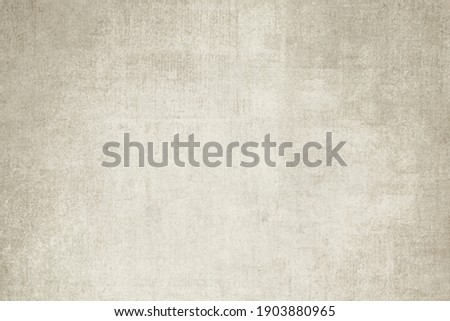 OLD VINTAGE NEWSPAPER BACKGROUND, BLANK GREY GRAINY GRUNGE PAPER TEXTURE, WEATHERED NEWSPRINT PATTERN WITH SPACE FOR TEXT Royalty-Free Stock Photo #1903880965