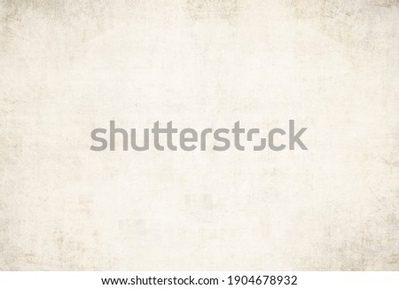 OLD GRUNGE NEWSPAPER TEXTURE BACKGROUND, BLANK PAPER, VINTAGE GRAINY WALLPAPER WITH COPY SPACE AND SPACE FOR TEXT