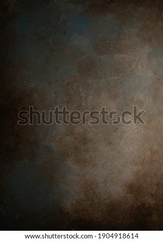 Rust effect backdrop for food photography.