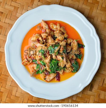 Thai Food Spicy chicken Curry #190656134