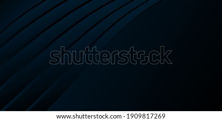 3d illustration, volumetric strict background. Background design for business card, invitation, banner. Gradient, vector Royalty-Free Stock Photo #1909817269