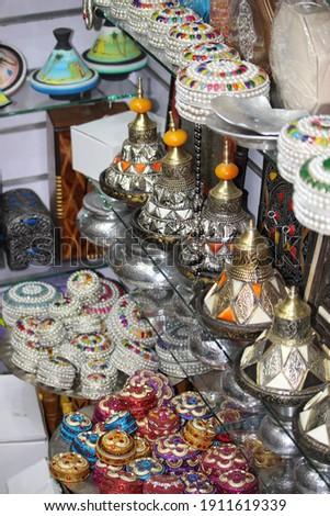 Marrakech city photo caption view