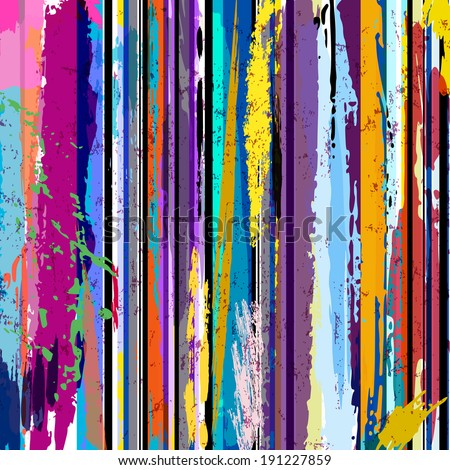 abstract background, with lines, strokes and splashes  #191227859