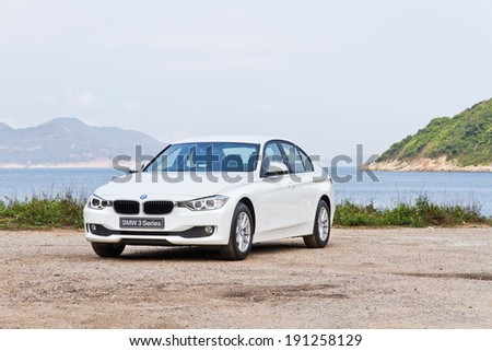 Hong Kong, China March 20, 2013 : BMW 328i test drive on March 20 2013 in Hong Kong. #191258129