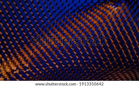 Colorful halftone gradients.Future geometric patterns.Halftone Pattern Abstract background for Template Brochure, Flyer, Comic, Business Card, Web Page.Copy space. Royalty-Free Stock Photo #1913350642