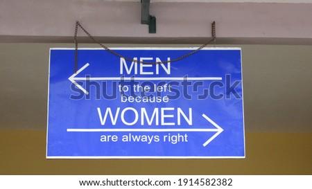 sign that makes us laugh