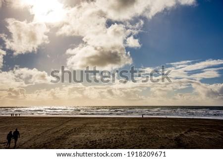 The Ocean beach in San Francisco