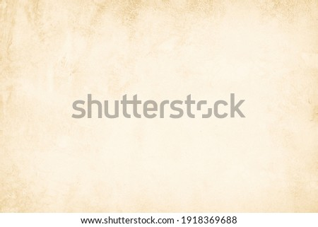 Close Up retro plain cream color cement wall background texture for show or advertise or promote product and content on display and web design element concept. Old concrete wall texture background. Royalty-Free Stock Photo #1918369688