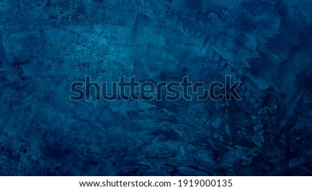 Navy blue dark polished cement texture, Abstract style wall background picture pattern, Feeling cool and skin rough.