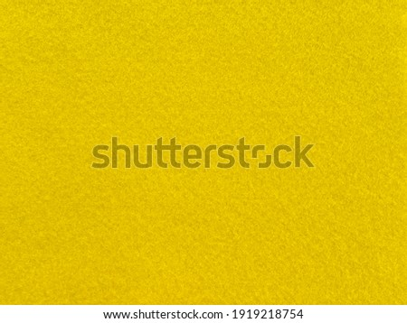 Yellow color felt background material