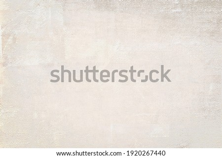 OLD NEWSPAPER BACKGROUND, BLANK GRAINY PAPER TEXTURE, VINTAGE TEXTURED PRINTED PATTERN WITH SPACE FOR TEXT Royalty-Free Stock Photo #1920267440