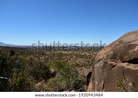 Down in the bottom of the Valley of Desolation near Graaff-Reinet Royalty-Free Stock Photo #1920943484