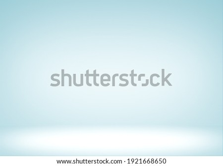 Abstract light blue white gradient background.concept for your graphic design poster banner and backdrop.