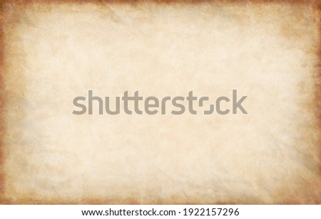Old paper texture background, vintage retro newspaper empty blank space page with grunge stain line pattern for text creative, backdrop, wallpaper and any design Royalty-Free Stock Photo #1922157296