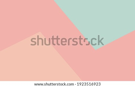 Colorful pastel paper stacks background.