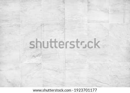 White marble texture abstract background pattern or marble tile wall. Royalty-Free Stock Photo #1923701177