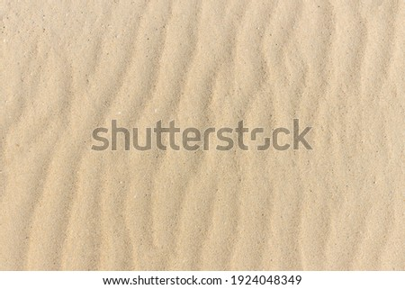 Sand texture. Sandy beach for background. Top view. Natural sand stone texture background. sand on the beach as background. Wavy sand background for summer designs. Royalty-Free Stock Photo #1924048349