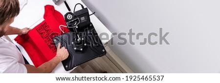 Custom Tshirt Print Press And Heat Machine