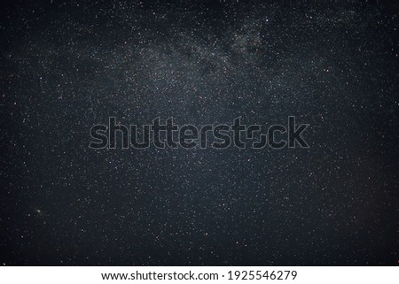 sky in the night with stars planets and comets Royalty-Free Stock Photo #1925546279