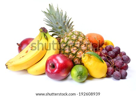Fresh fruit #192608939