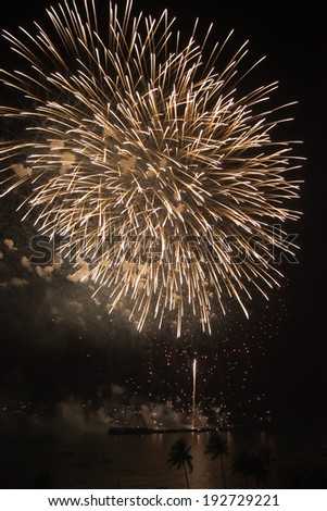 firework international in Thailand