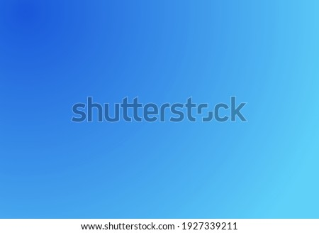 background with beautiful bright blue gradations, brush and smooth gradient colors, suitable for your design templates such as background, web design, posters, banners, books, illustrations, etc. Royalty-Free Stock Photo #1927339211