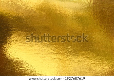 Gold background or texture and Gradients shadow Royalty-Free Stock Photo #1927687619