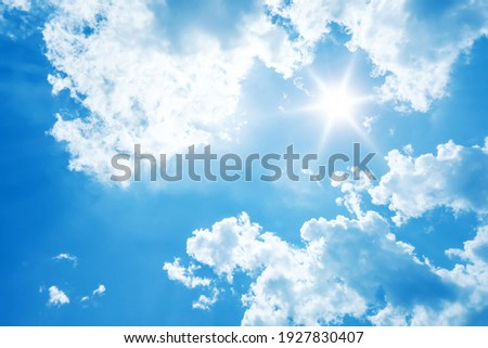 Picture of Blue Sky at Afternoon for Desktop