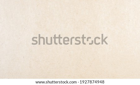Abstract brown recycled paper texture background. Old Kraft paper box craft pattern. top view. Royalty-Free Stock Photo #1927874948