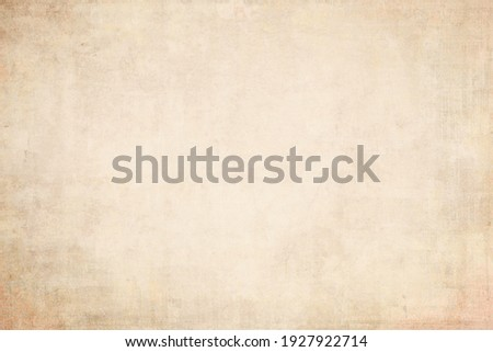 OLD NEWSPAPER BACKGROUND, BLANK BROWN GRUNGE PAPER TEXTURE, RETRO WALLAPPER PATTERN, GRUNGY TEXTURED DESIGN WITH BLANK SPACE FOR TEXT Royalty-Free Stock Photo #1927922714