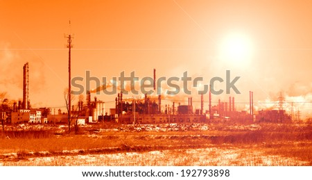 oil and gas processing plant #192793898