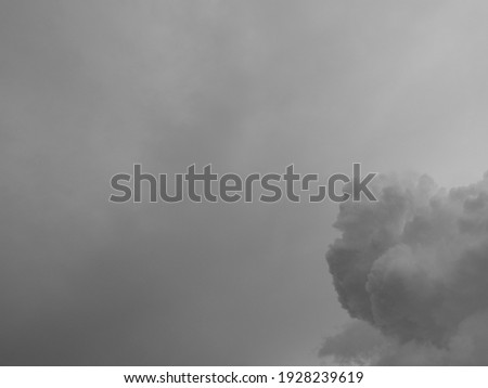 clouds background.Clouds become dark gray like a big smoke before rainfall.Thunderstorm is a storm with lightning and thunder. strom.