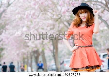 Beautiful asian girl #192875936