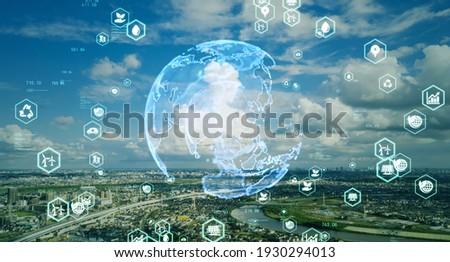 Environmental technology concept. Sustainable development goals. SDGs. Royalty-Free Stock Photo #1930294013