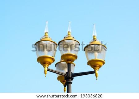 lamp in street  #193036820