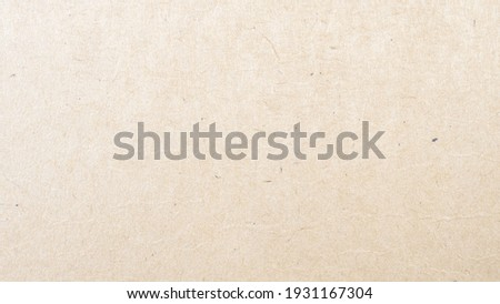 Abstract brown recycled paper texture background. Old Kraft paper box craft pattern. top view. Royalty-Free Stock Photo #1931167304